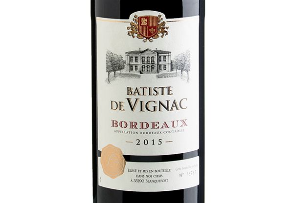Bordeaux Batiste de Vignac 2015