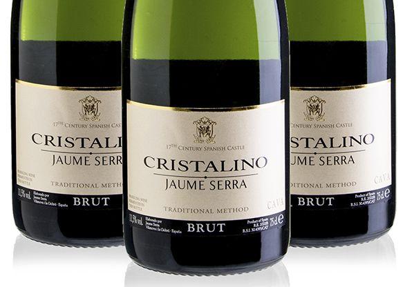 Kit Cava Jaume Serra Cristalino Brut - 3 garrafas