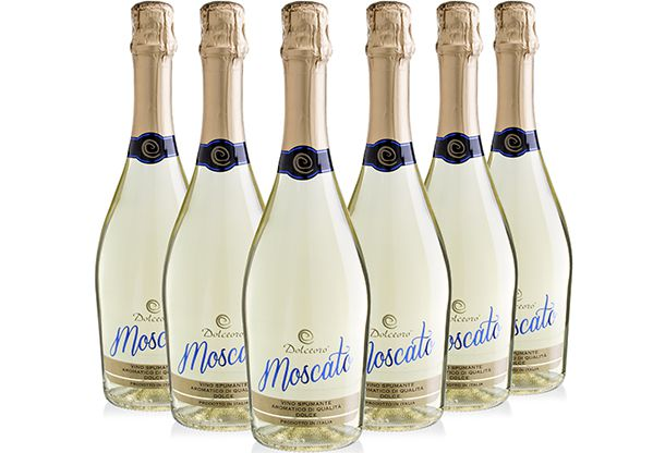 Kit Dolceoro Moscato Spumante - 6 garrafas